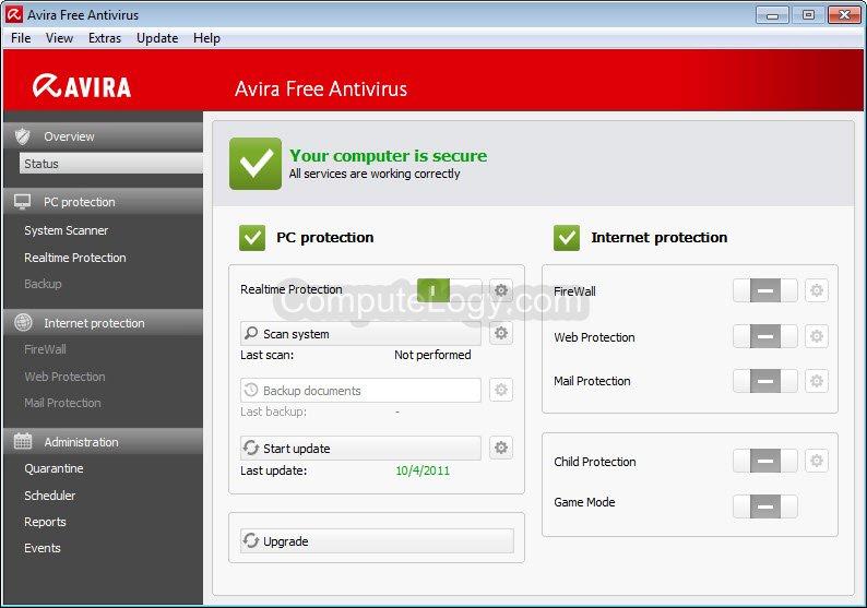 telecharger avira antivirus 2012 gratuit