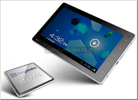 First Android 4 IceCream Sandwich Tablet Costs $100 – 1GHz Processor