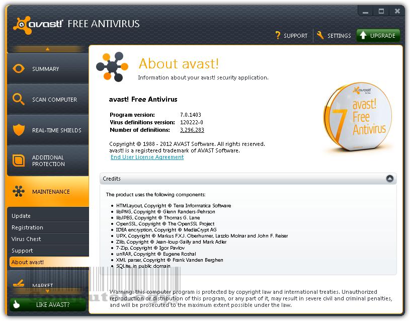 Avast anti virus professional 4 8 1356 full plus keygen