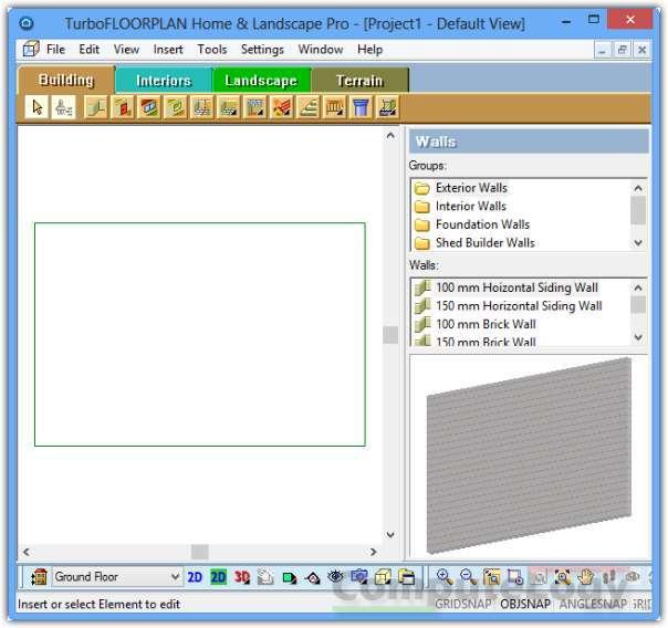 computelogy get free turbofloorplan home amp landscape pro v12 floor plan software easily creating floor plans with cad pro