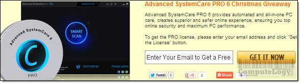 Advanced SystemCare Pro License Request Form