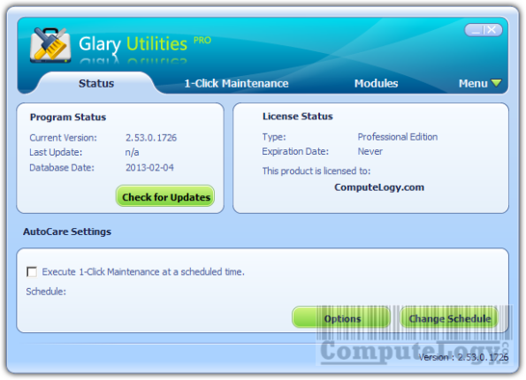 ComputeLogy-Galary Utilities Professional
