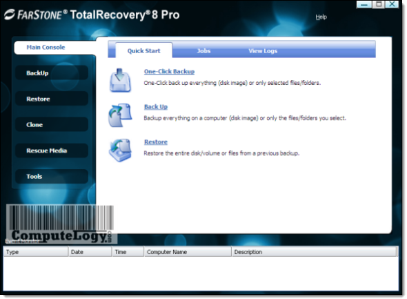 FarStone TotalRecovery Pro 8