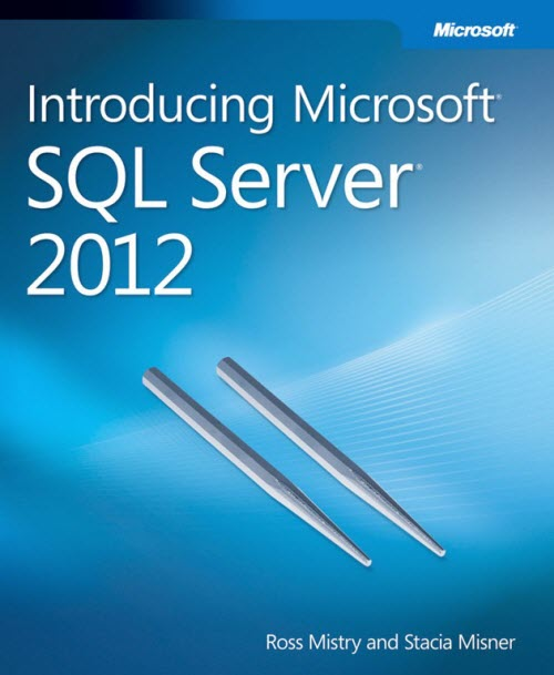 ebook cover Introducing Microsoft SQL Server 2012