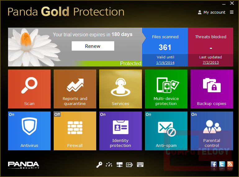 Panda Gold Protection v7.00.0.1