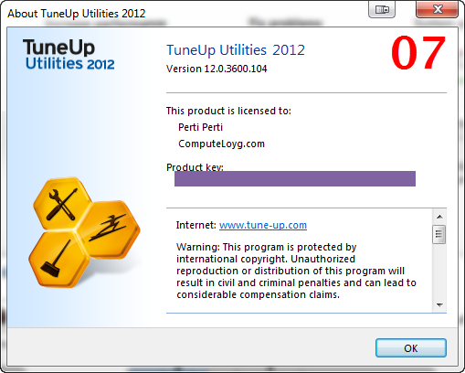 TuneUp Utilities 2012 Registration 03
