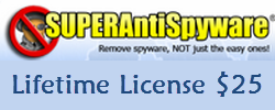 SUPERAntiSpyware Latest - 3 Users Lifetime License Only $25