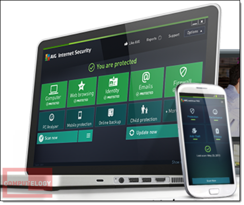 AVG Internet Security Banner