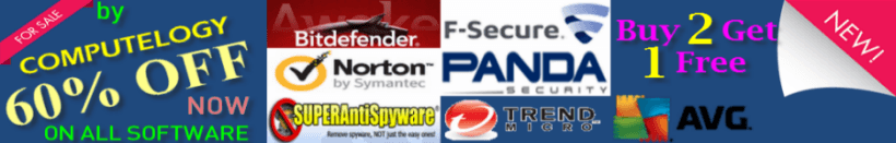 STORE - 60% OFF ON ALL SECURITY SOFTWARE
