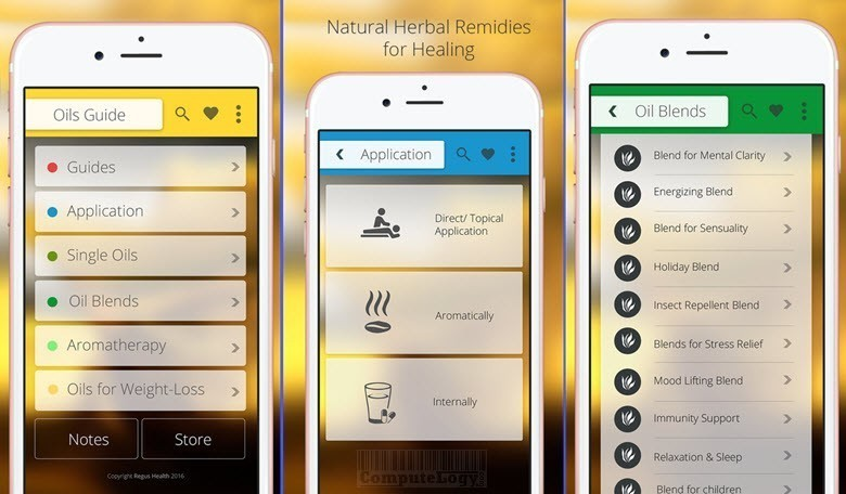 Best Essential Oils and Aromatherapy Guide for iPhone iPad