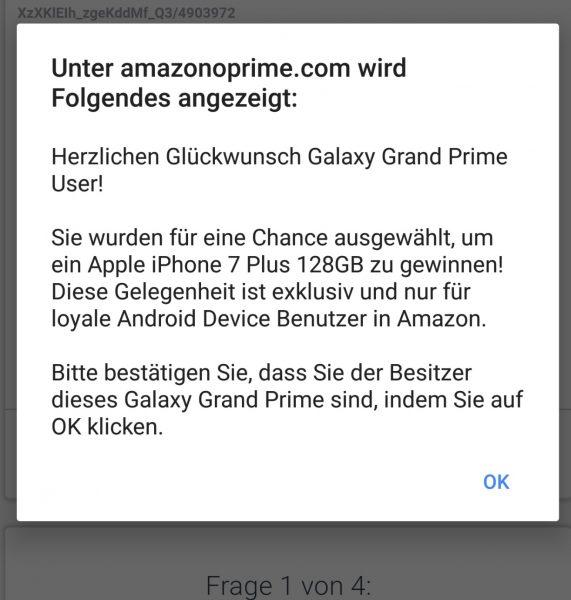 google adsense deceptive ad in german