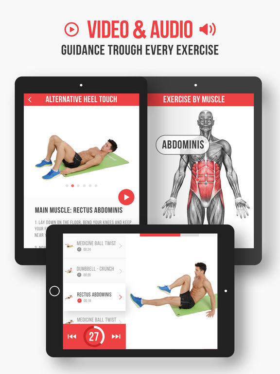 Six Pack Abs by VGFiT banner