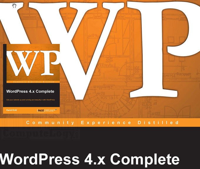 WordPress 4.x Complete book banner