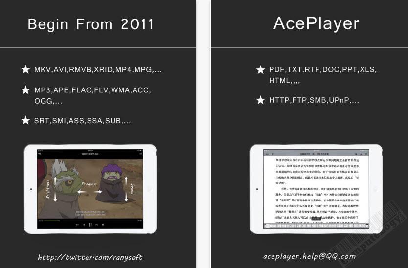 aceplayer plus iphone ipad app computelogy