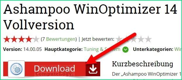 ashampoo winoptimizer download computerbild a computelogy-com