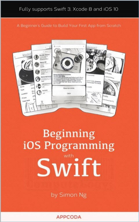begin programming with swift language book cover