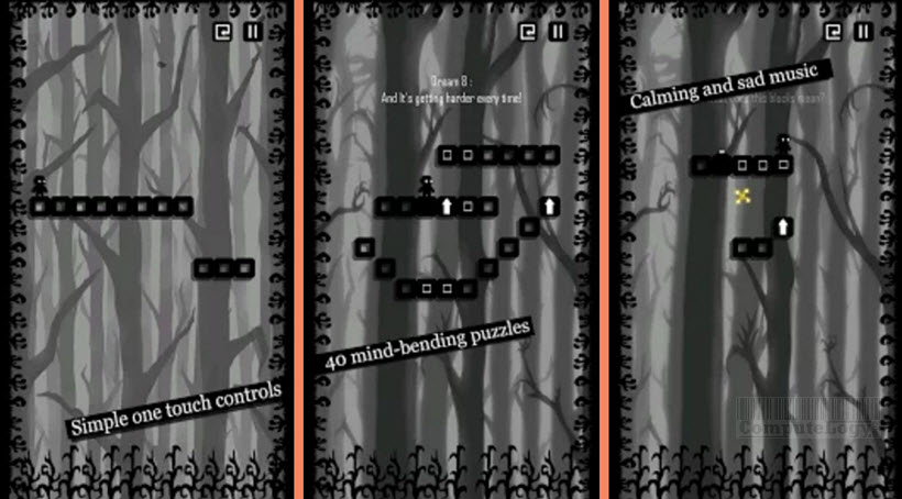darkest dreams game interface