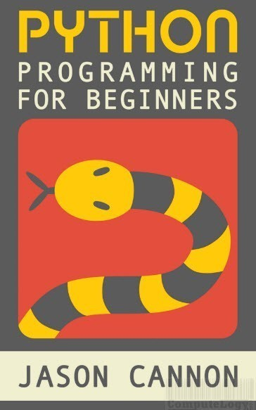 python programming for beginners book cover page