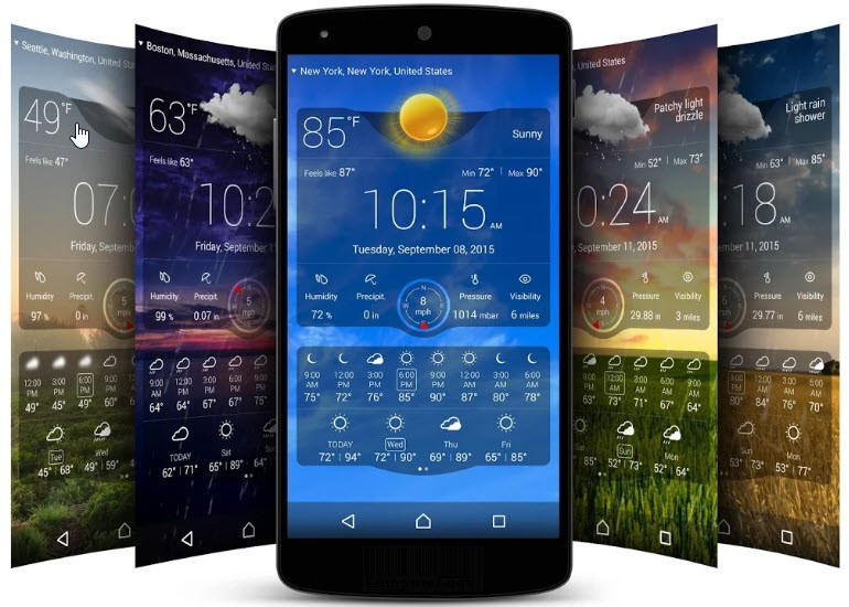 weather live app poster computelogy