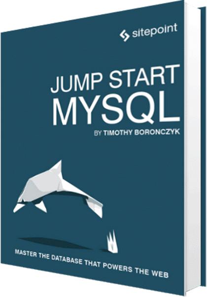 Jump Start MYSQL book cover title page computelogy-com