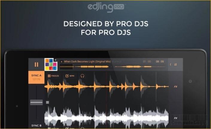 Edjing PRO - Music DJ Mixer Android google play computelogy-com