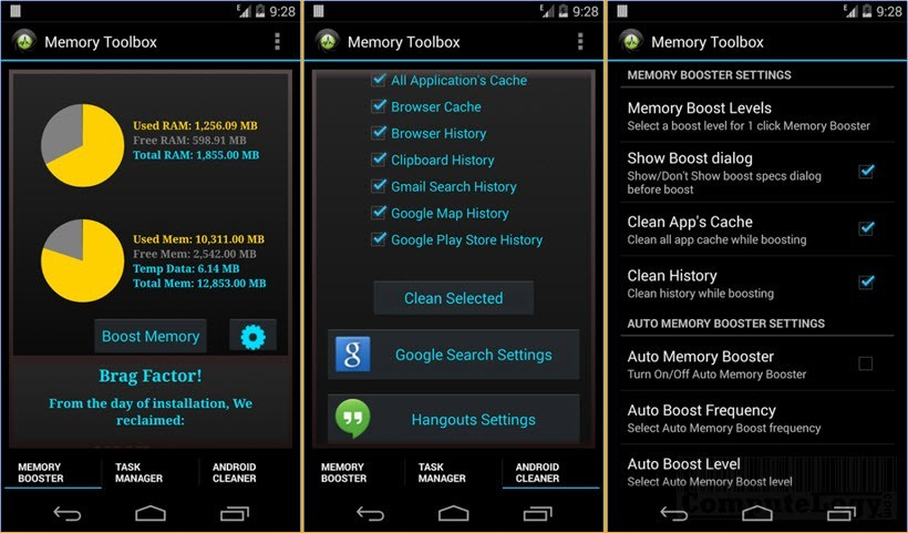 Memory Booster for Android Pro app google play computelogy-com