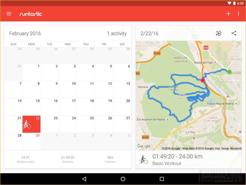Runtastic Road Bike PRO Android App Banner Google Play computelogy-com