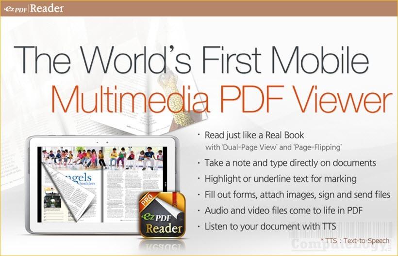 ezPDF Reader PDF Annotate Form android app banner computelogy-com