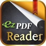 ezPDF Reader PDF Reader Annotator Form Filler iphone ipad ipot touch app logo
