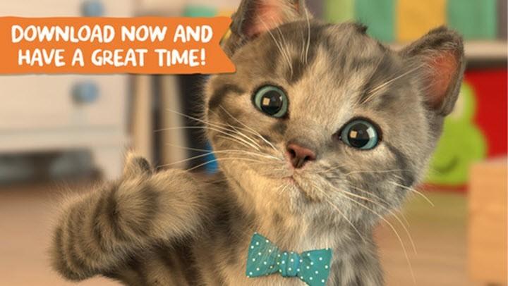 litte kitten my favorite cat iphone ipad ios app banner computelogy-com