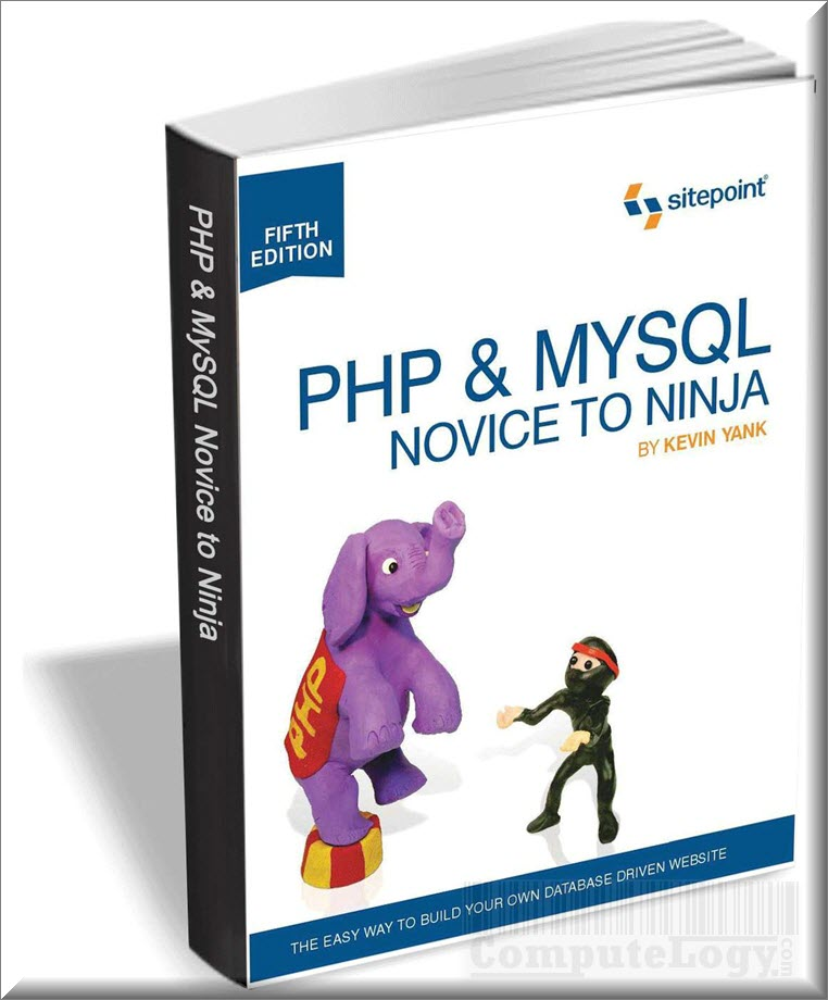 php and mysql novie to ninja book 5th edition cover title page computelogy-com