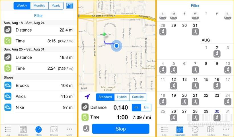runners log app ios iphone ipad apple app store