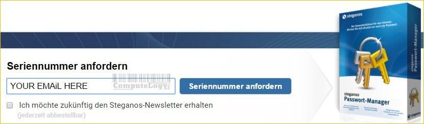steganos password manager license request form computelogy-com