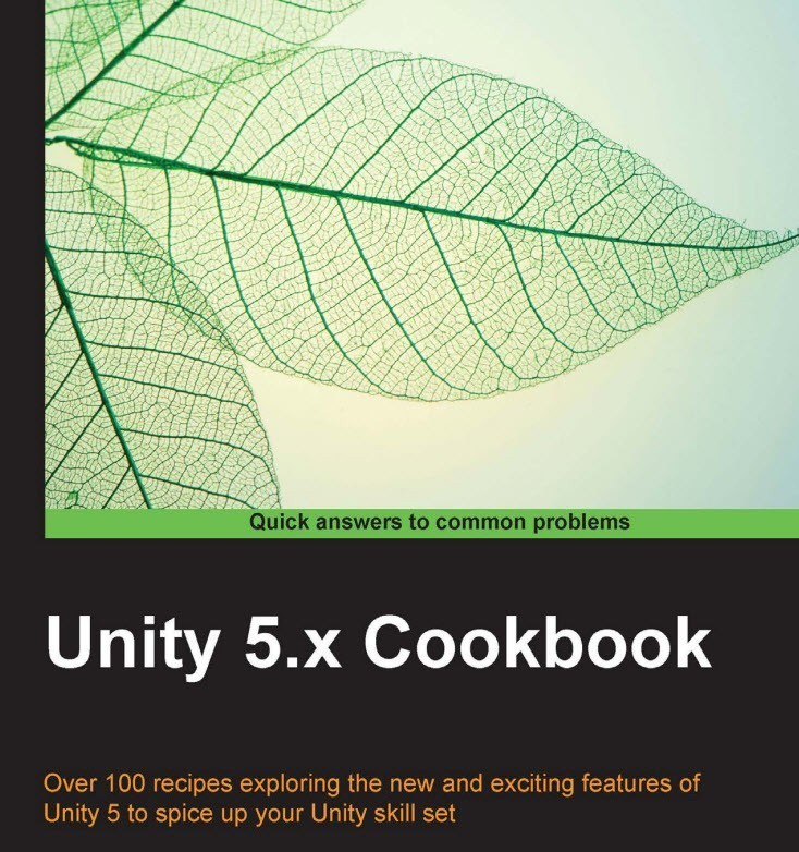 unity 5x cookbook book title cover by computelogy-com