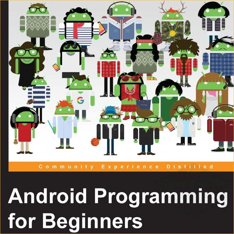 Android Programming for Beginners book cover titile page computelogy-com