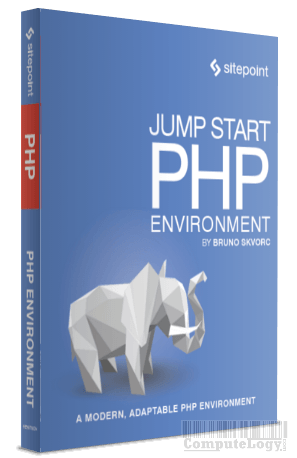 Jump Start PHP Environment ebook cover title page computelogy-com
