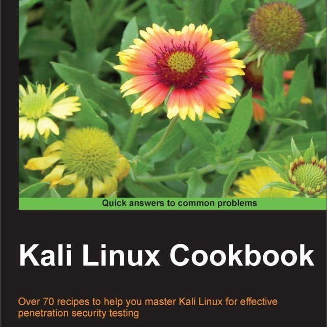 Kali Linux Cookbook cover title page computelogy-com