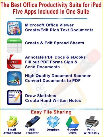 Office Suite Personal Edition iPhone iPad iPod Touch App Apple App Store computelogy-com