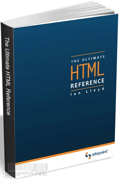 The Ultimate HTML Reference book title cover page computelogy-com