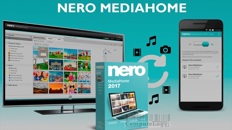nero mediahome 2017 banner