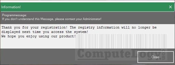 Abylon WLAN-Live-Scanner 2017 registration confirmation window computelogy-com
