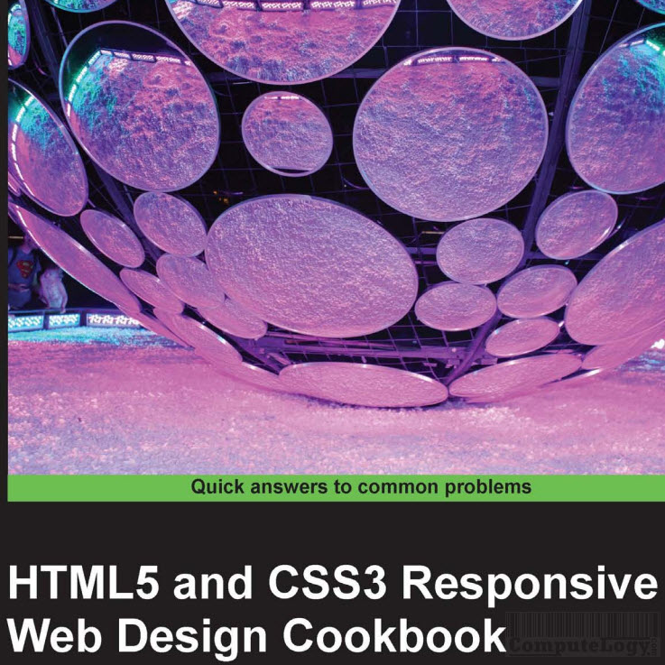 HTML5 and CSS3 Responsive Web Design Cookbook cover title page