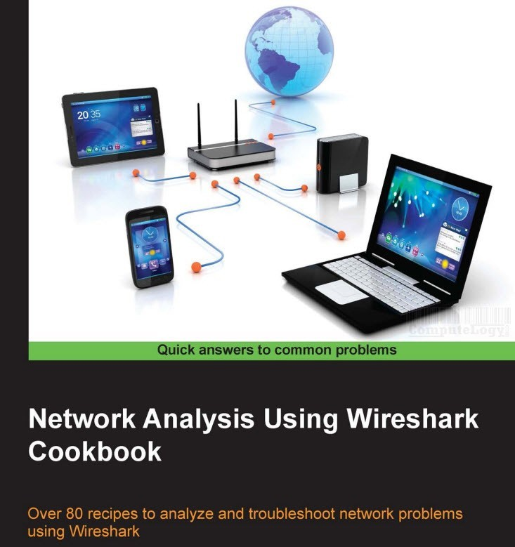 Network Analysis using Wireshark Cookbook title cover page computelogy-com