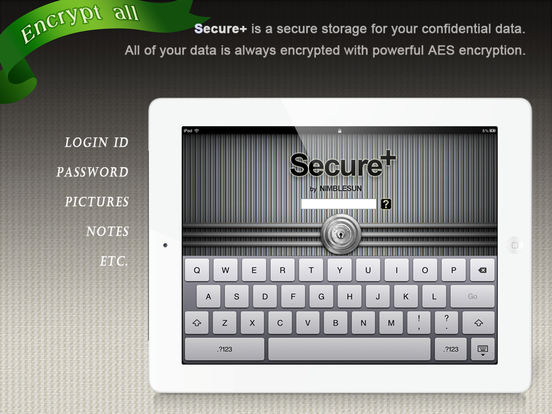 Secure+ password manager app banner computelogy-com