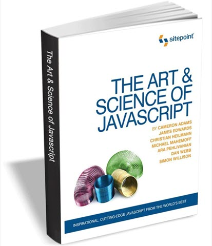 The Art & Science of JavaScript book cover title page computelogy-com