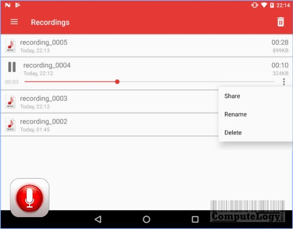 Voice Recorder - Sound Recorder PRO app banner