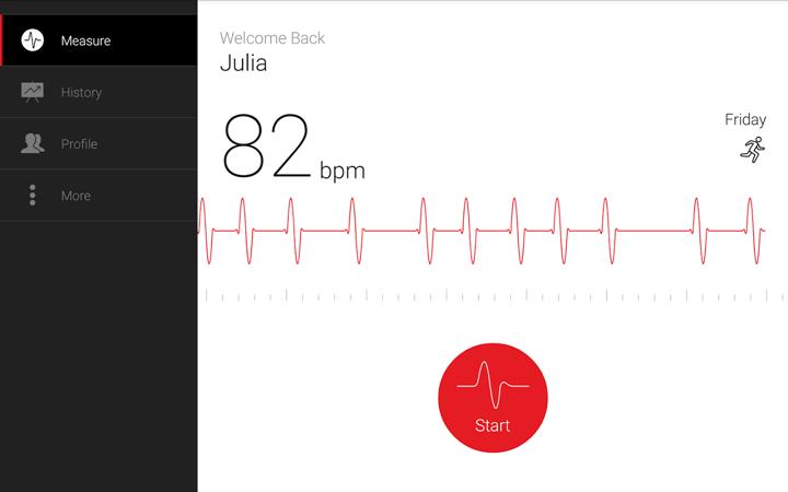 cardiograph app banner