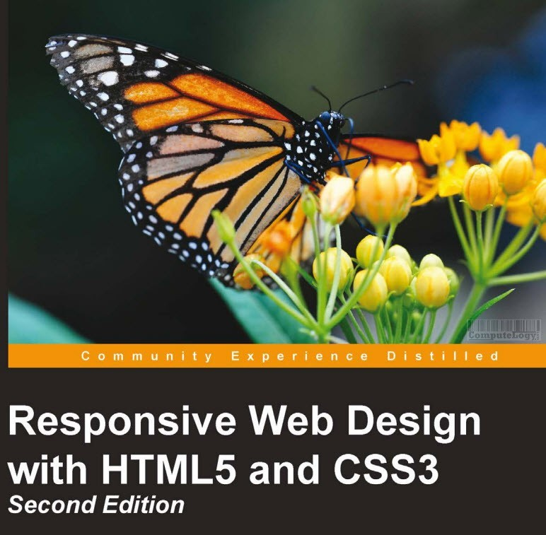responsive web design with html 5 and css3 book cover title page computelogy-com