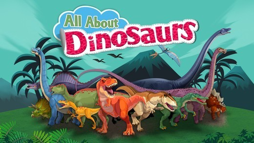All About Dinosaurs app banner