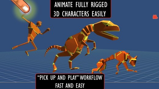 Anim8 3D Character Animation Made Easy app banner